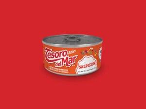 Atún Tesoro del Mar Salpicón, trozos en salsa criolla 140g